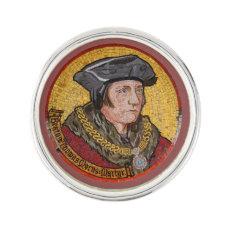 Saint Thomas More: Lapel Pin