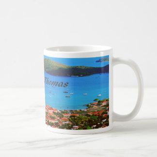 Saint Thomas Classic White Coffee Mug