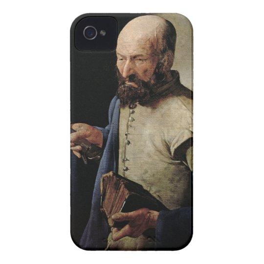 Saint Thomas (oil on canvas) iPhone 4 Case-Mate Case