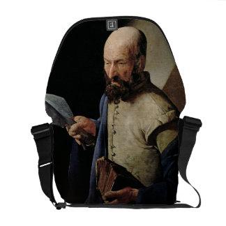 Saint Thomas (oil on canvas) Courier Bag