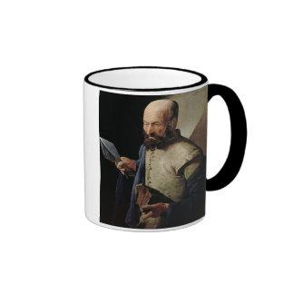 Saint Thomas (oil on canvas) Ringer Mug