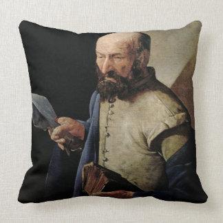 Saint Thomas (oil on canvas) Throw Pillow