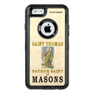 SAINT THOMAS (Patron Saint of Masons) OtterBox Defender iPhone Case