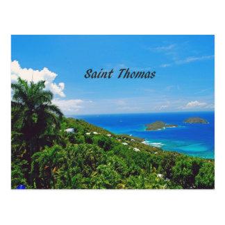 Saint Thomas Postcard