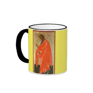 Saint Thomas the Apostle* Cup Ringer Coffee Mug