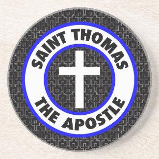 Saint Thomas the Apostle Sandstone Coaster