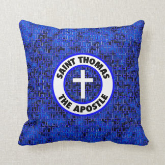 Saint Thomas the Apostle Throw Pillow