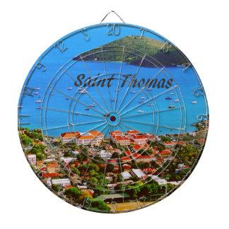 Saint Thomas U.S.V.I. Dartboard