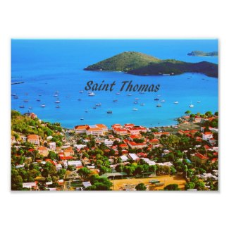 Saint Thomas U.S.V.I. Photo Print