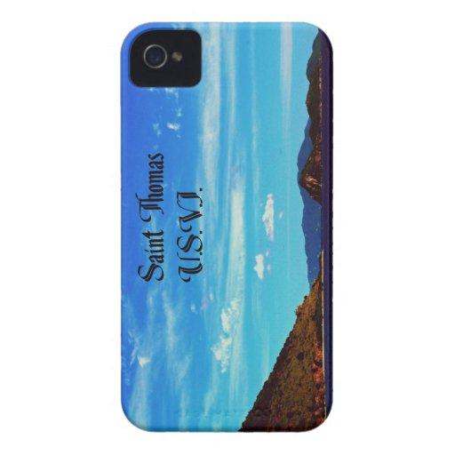 Saint Thomas United States Virgin Islands Case-Mate iPhone 4 Cases