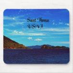 Saint Thomas United States Virgin Islands Mouse Pad