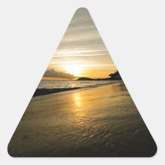 Saint Thomas, USVI Triangle Sticker