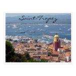 saint tropez harbor view post cards