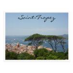 saint tropez tree view post cards