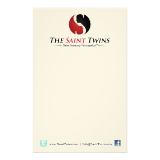 Saint Twins Notepad Stationery