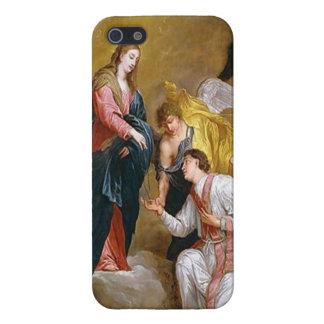 Saint Valentine and Virgin iPhone 5 Case