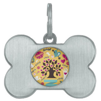 Saint Valentine Collection Pet ID Tag