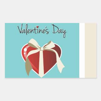 Saint Valentine Collection Rectangular Sticker