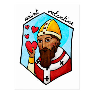 Saint Valentine Postcard