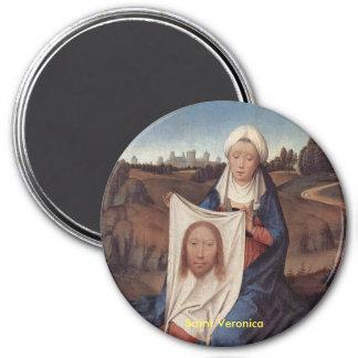 Saint Veronica Portrait Magnet