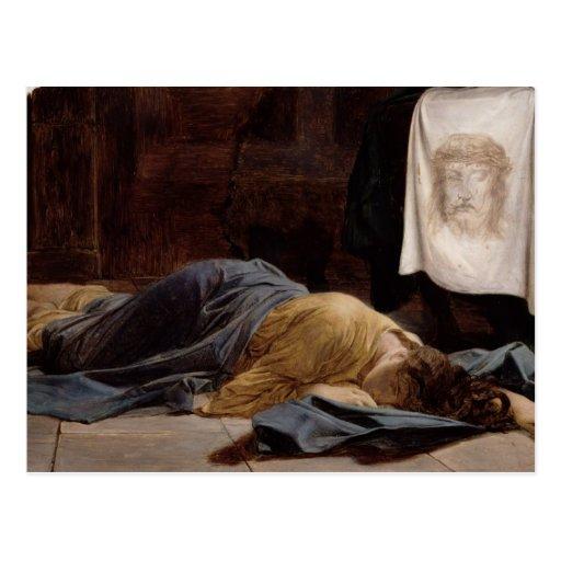 Saint Veronica Postcard