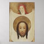 Saint Veronica with the Sudarium, c.1420 Poster