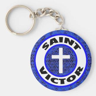 Saint Victor Keychain