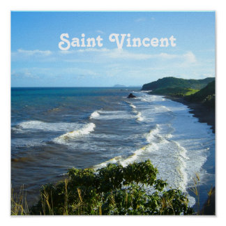 Saint Vincent and Grenadine Poster