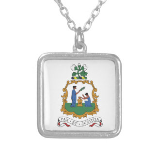 Saint Vincent and the Grenadines Coat of Arms Pendant