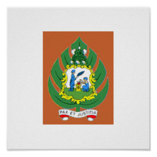 Saint Vincent and the Grenadines Coat of Arms Poster