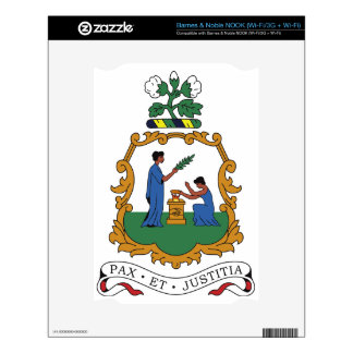 Saint Vincent and the Grenadines Coat of Arms Decal For NOOK