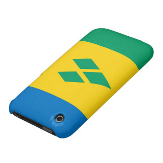 saint vincent and the grenadines country flag iPhone 3 case