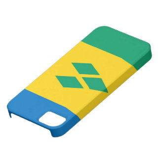 saint vincent and the grenadines country flag iPhone 5 cases