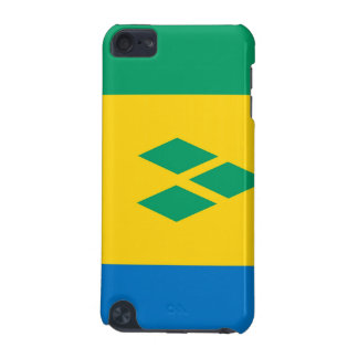 saint vincent and the grenadines country flag iPod touch (5th generation) case