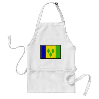 Saint Vincent and the GrenadinesFlag Apron