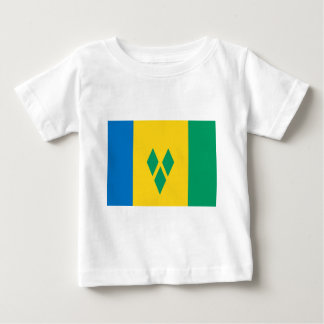 Saint Vincent and the Grenadines flag Baby T-Shirt