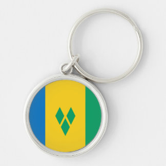 Saint Vincent and the Grenadines Flag Keychain