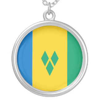 Saint Vincent and the Grenadines Flag Necklace