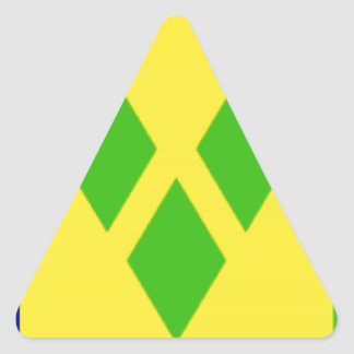 Saint Vincent and the GrenadinesFlag Stickers