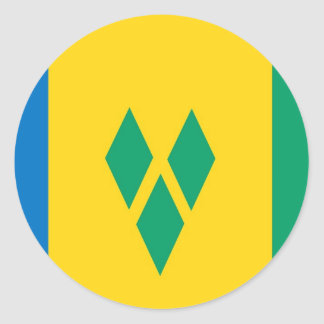 Saint Vincent and the Grenadines flag Stickers