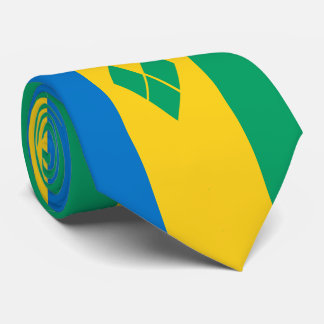 Saint Vincent and the Grenadines Flag Tie