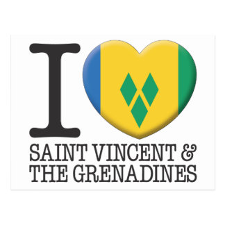 Saint Vincent and the Grenadines Postcard
