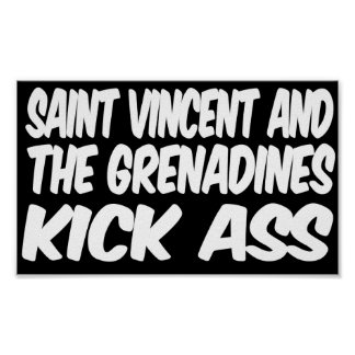 SAINT VINCENT AND THE GRENADINES PRINT
