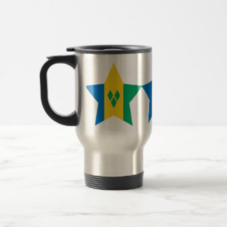 Saint+Vincent+and+the+Grenadines Star Coffee Mugs