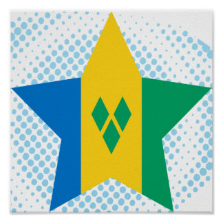 Saint+Vincent+and+the+Grenadines Star Poster