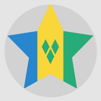 Saint+Vincent+and+the+Grenadines Star Sticker