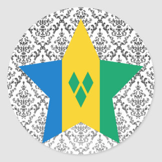 Saint+Vincent+and+the+Grenadines Star Stickers