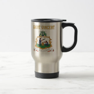 Saint Vincent Coat Of Arms Coffee Mugs