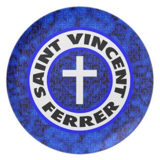 Saint Vincent Ferrer Dinner Plate