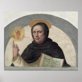 Saint Vincent Ferrer (fresco) Poster